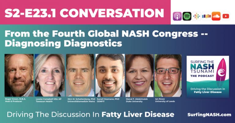 S2-E23.1 - From the Fourth Global NASH Congress -- Diagnosing Diagnostics