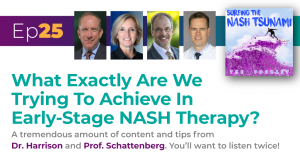 What Exactly Are We Trying To Achieve In Early-Stage Nash Therapy?