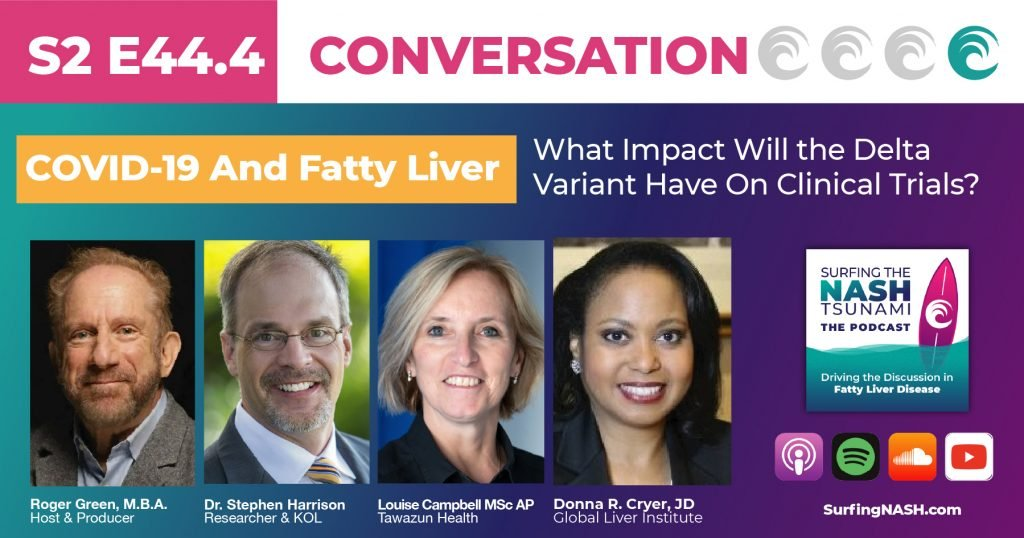 COVID-19 and Fatty Liver - What Impact Will the Delta Variant Have On Clinical Trials?