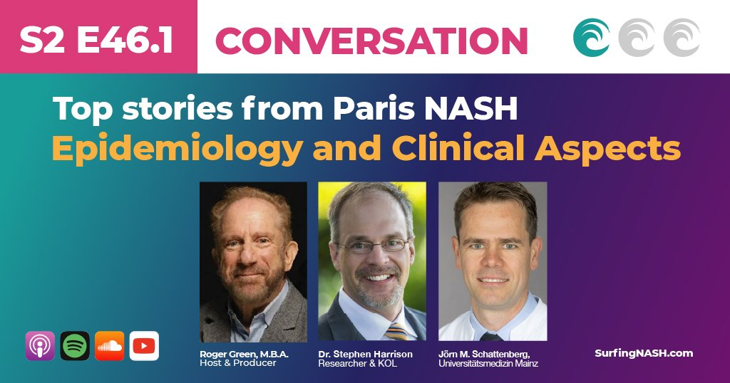 S2-E46.1 - Top stories from Paris NASH -- Epidemiology and Clinical Aspects