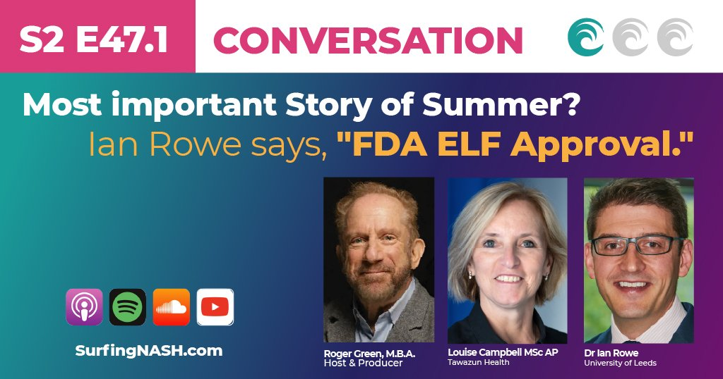 """Most important Story of Summer? Ian Rowe says, """"FDA ELF Approval."""""""