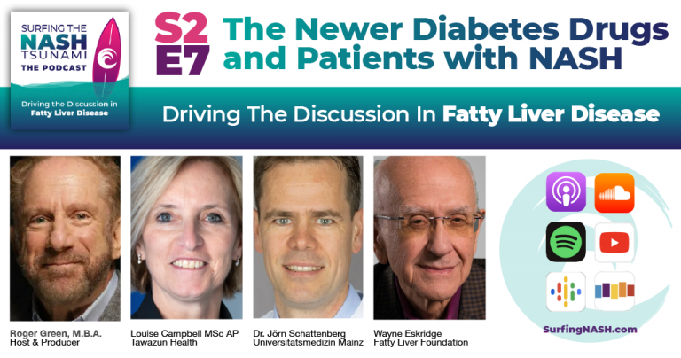 The Newer Diabetes Drugs and Patients with NASH