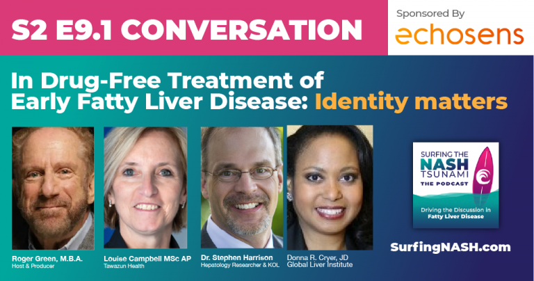 In Drug-Free Treatment of Early Fatty Liver Disease: Identity matters